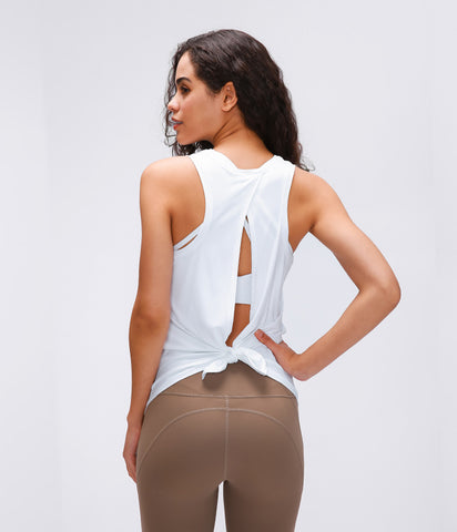 HOLLOW BACK TANK TOP