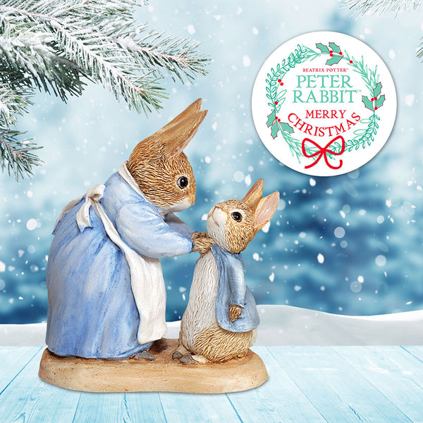 Winter Collection Peter Rabbit Figurines