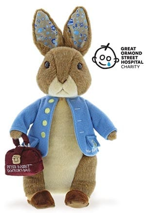 Great Ormond Street Limited Edition Peter Rabbit with Doctors Bag