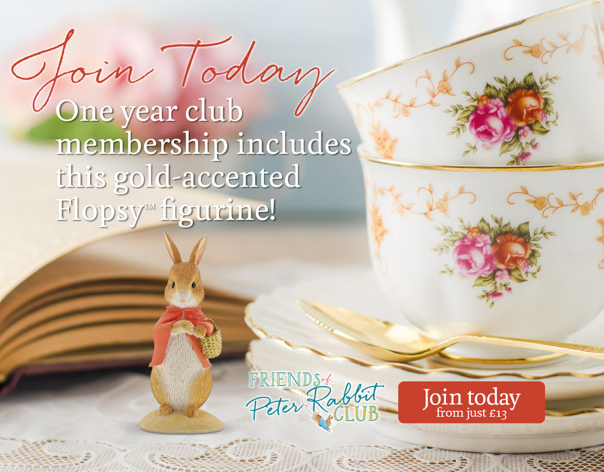 Join the Friends of Peter Rabbit Club today from just £13