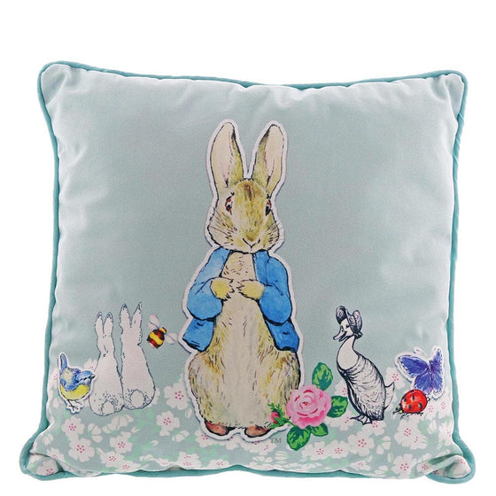 Peter Rabbit Pin-Up Cushion by Beatirix Potter
