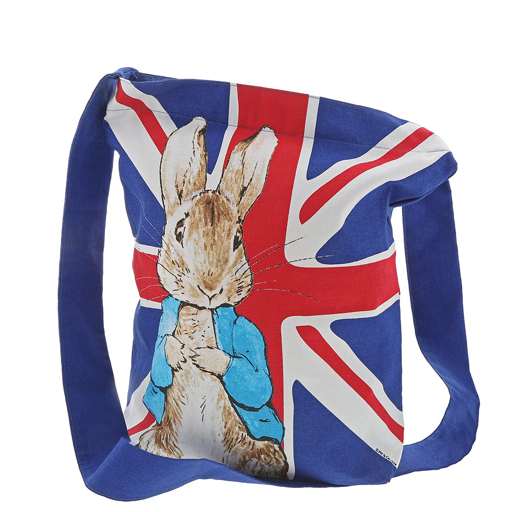 Peter Rabbit Union Jack Tote Bag by Beatrix Potter