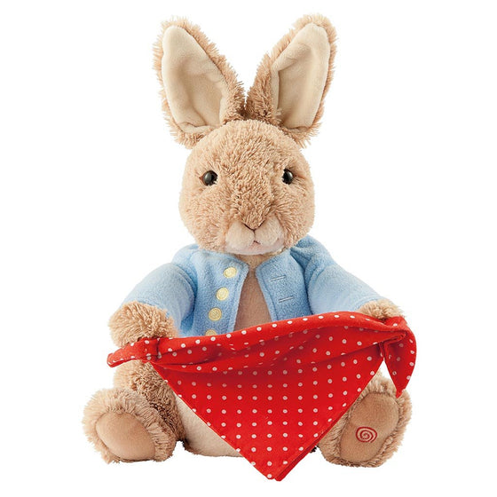 GUND Peter Rabbit Peek-a-Boo Soft Toy