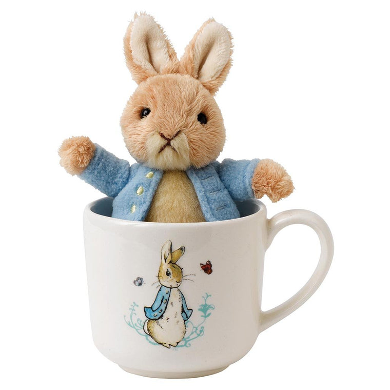 Beatrix Potter Peter Rabbit Mug & Soft Toy Gift Set