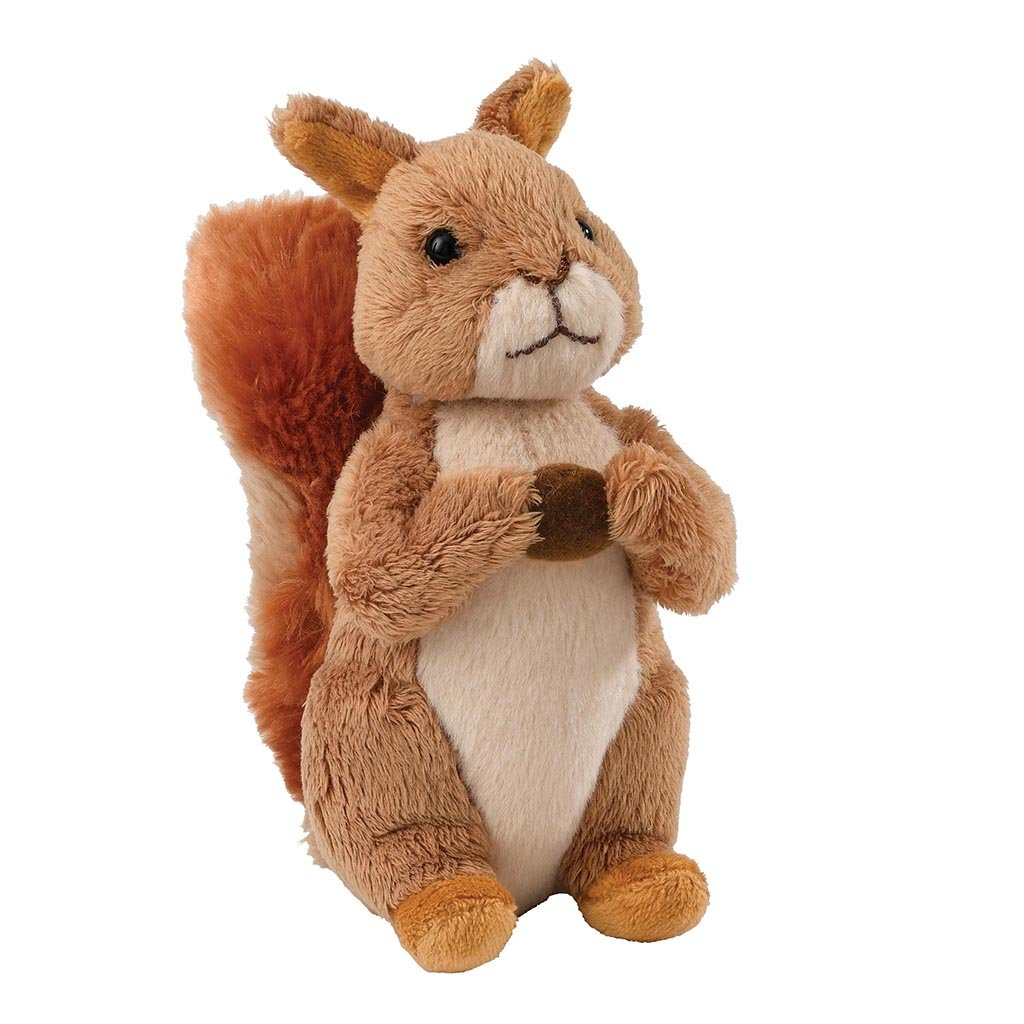 GUND Peter Rabbit Squirrel Nutkin Small Soft Toy