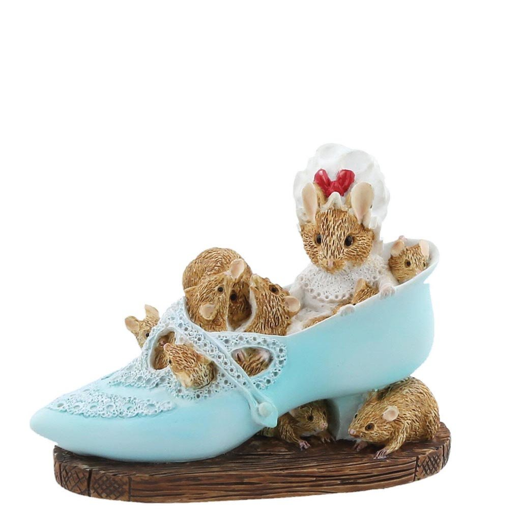 Old Woman Who Lived In a Shoe Figurine by Beatrix Potter