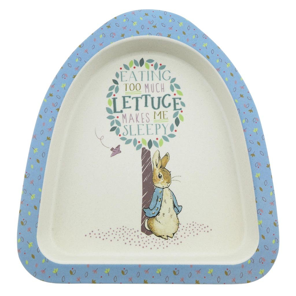 Peter Rabbit Bamboo Plate by Beatrix Potter