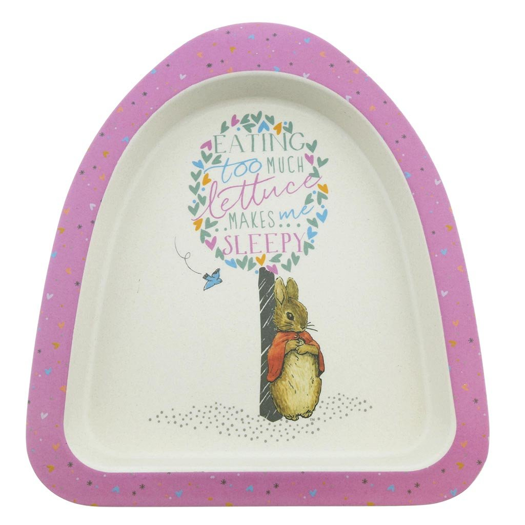 Flopsy Bamboo Plate by Beatrix Potter