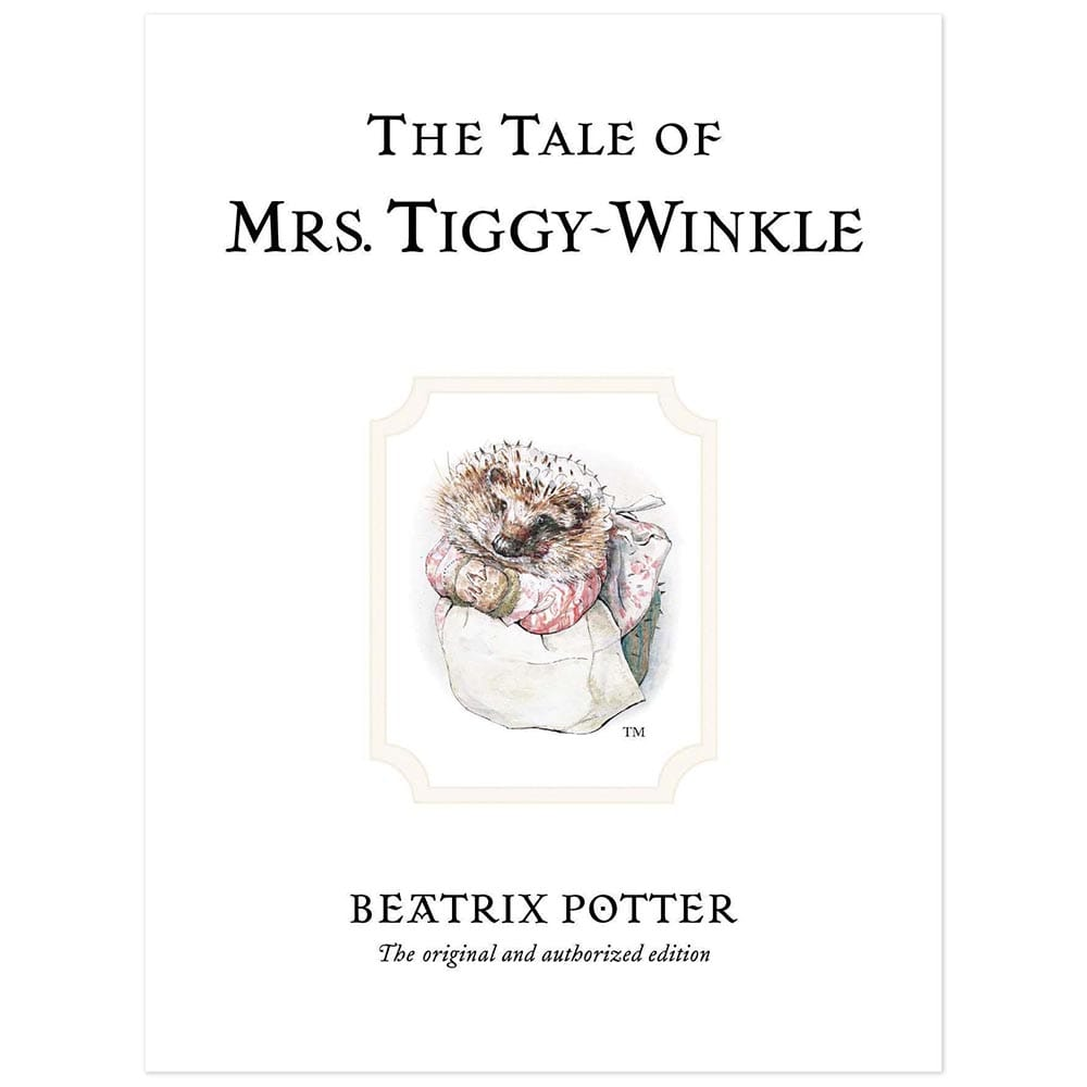 The Tale of Mrs. Tiggy-Winkle Book