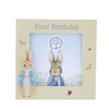 Peter Rabbit First Birthday Photo Frame by Beatirix Potter