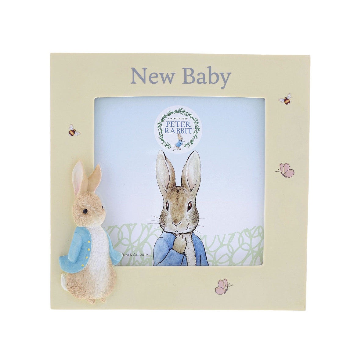 Peter Rabbit New Baby Photo Frame by Beatirix Potter