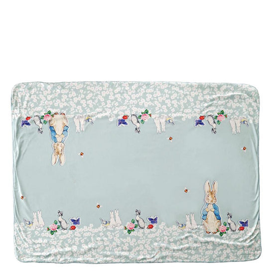 Peter Rabbit Pin Up Throw by Beatrix Potter