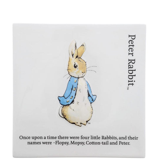 Peter Rabbit Decorative Wall Plaque by Beatrix Potter