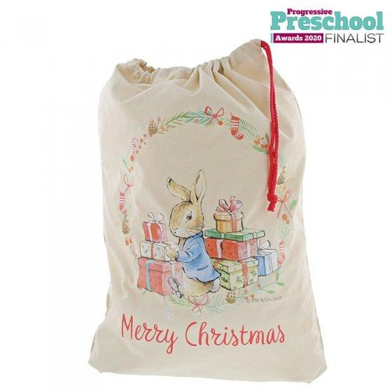 Peter Rabbit Christmas Sack by Beatrix Potter