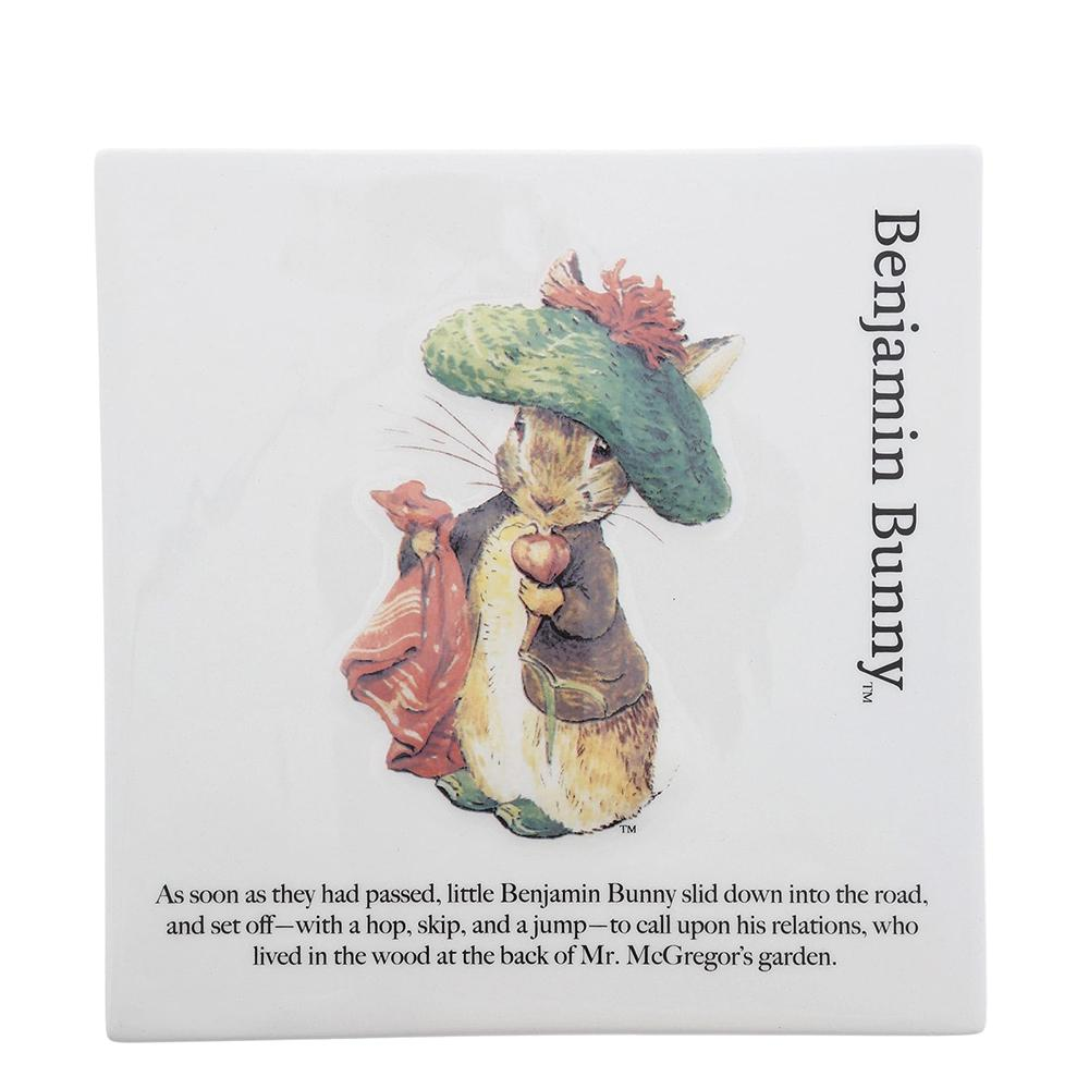 Benjamin Bunny Decorative Wall Plaque by Beatrix Potter