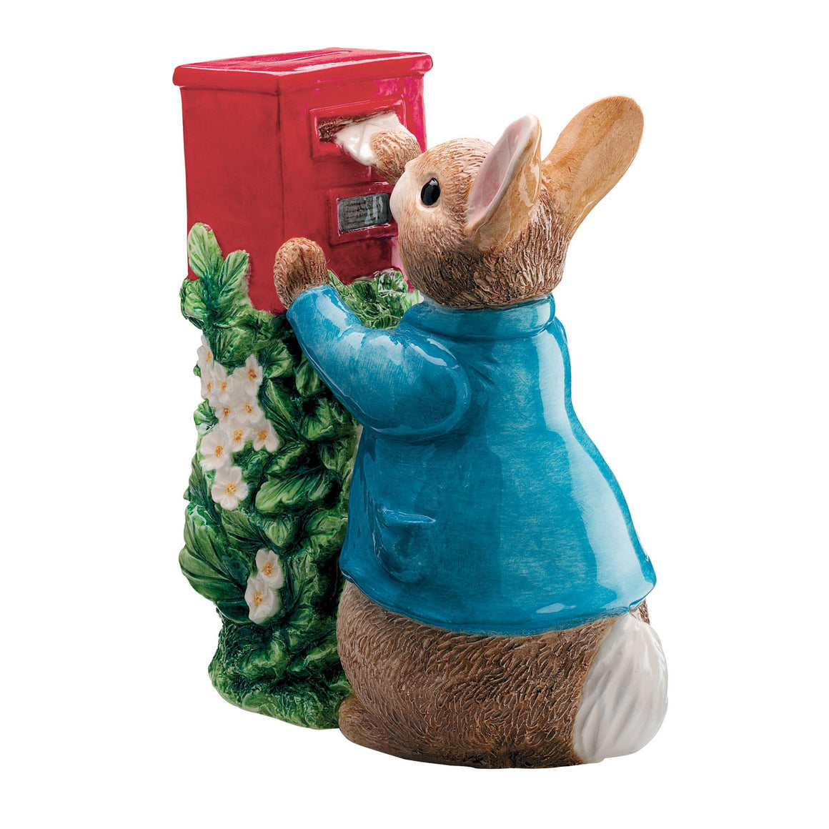 Peter Rabbit Posting a Letter Money Bank by Beatrix Potter