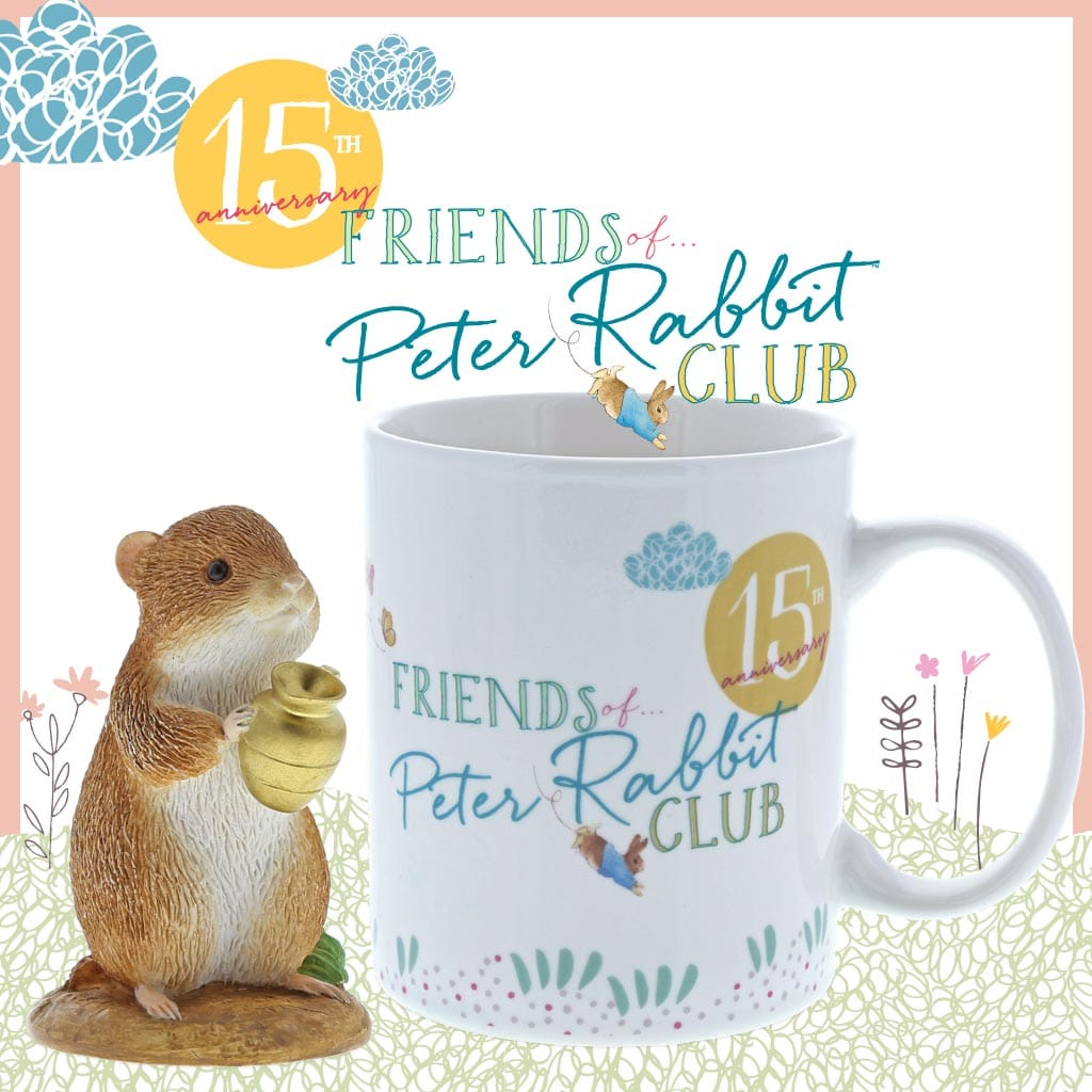 Friends of Peter Rabbit™ 2018 One Year Renewal Membership UK - ADD DISCOUNT CODE 'RENEWAL' AT CHECKOUT FOR FREE DELIVERY