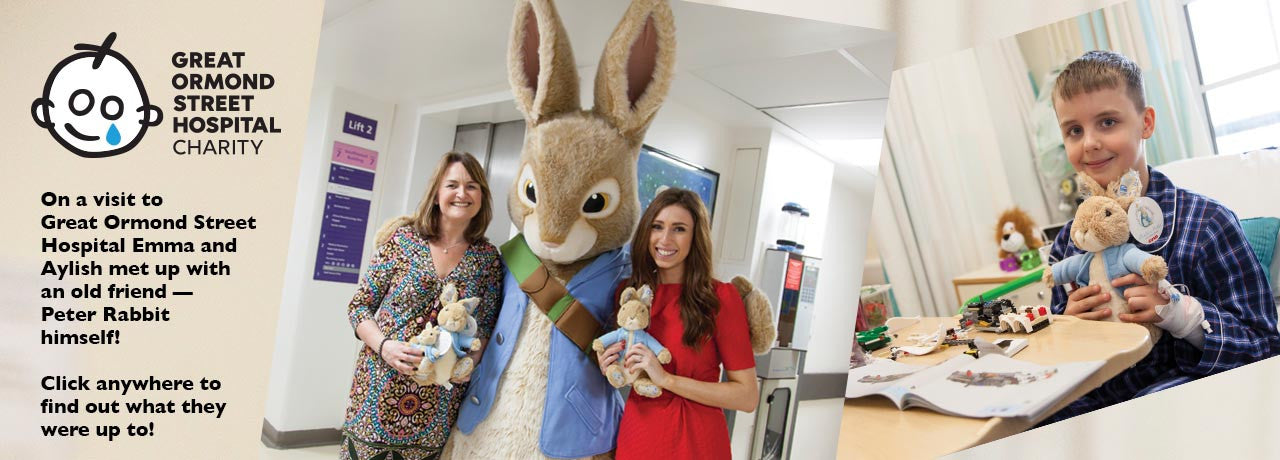 visit to Great Ormond Street Children's Hospital
