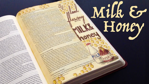 Bible milk and honey