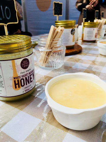 Latin Honey Shop Raw Organic White Velvet Mesquite Honey From Mexico