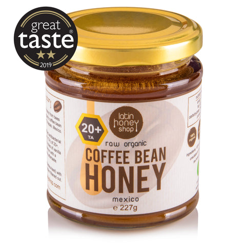 Latin Honey Shop 20+ Active Raw Organic Coffee Bean Honey From Mexico