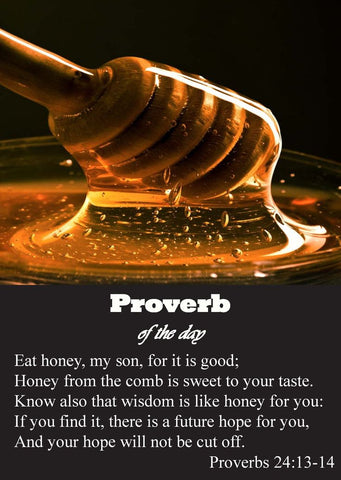 Honey in Proverbs