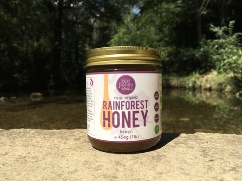 Raw Organic Rainforest Honey From Brazil Latin Honey Shop