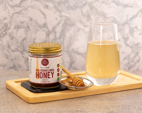 Raw honey water