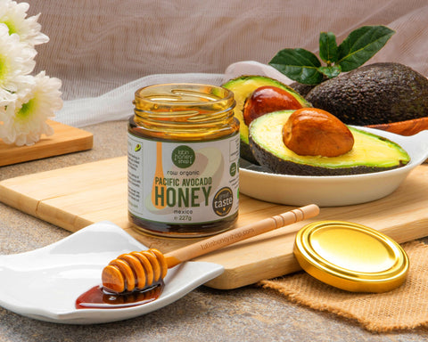 Raw Organic Pacific Avocado Honey from Mexico