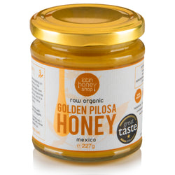 Latin Honey Shop Raw Organic Golden Pilosa Honey from Mexico