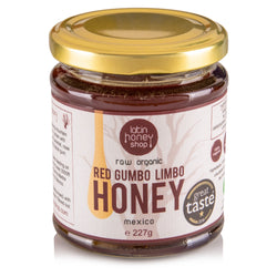 Raw Organic Red Gumbo Limbo Honey from Mexico 227g Latin Honey Shop