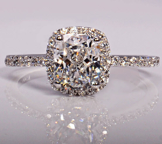 3ct Cz Diamond ring crafted in 925 Sterling Silver