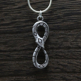 Infinity Snake necklace