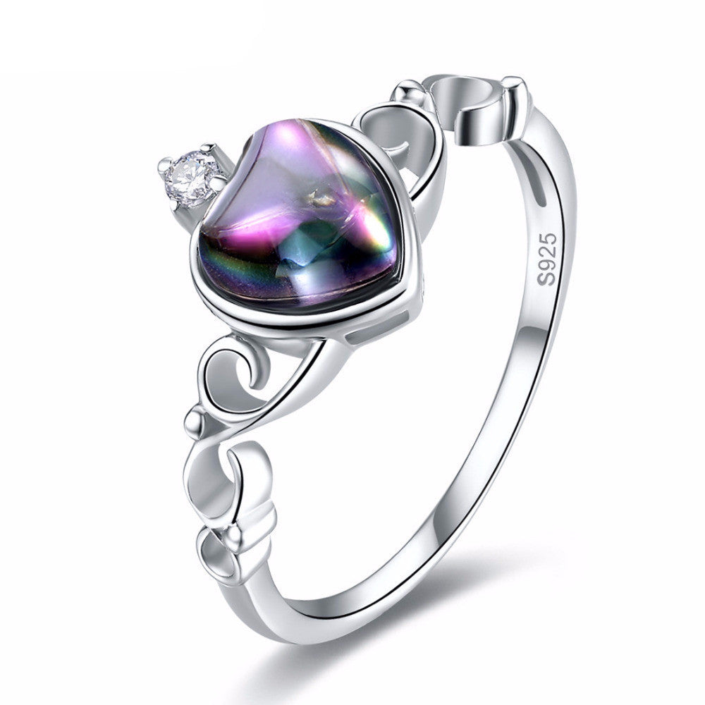 Mystic Topaz Rainbow Fire Ring - 925 Sterling Silver