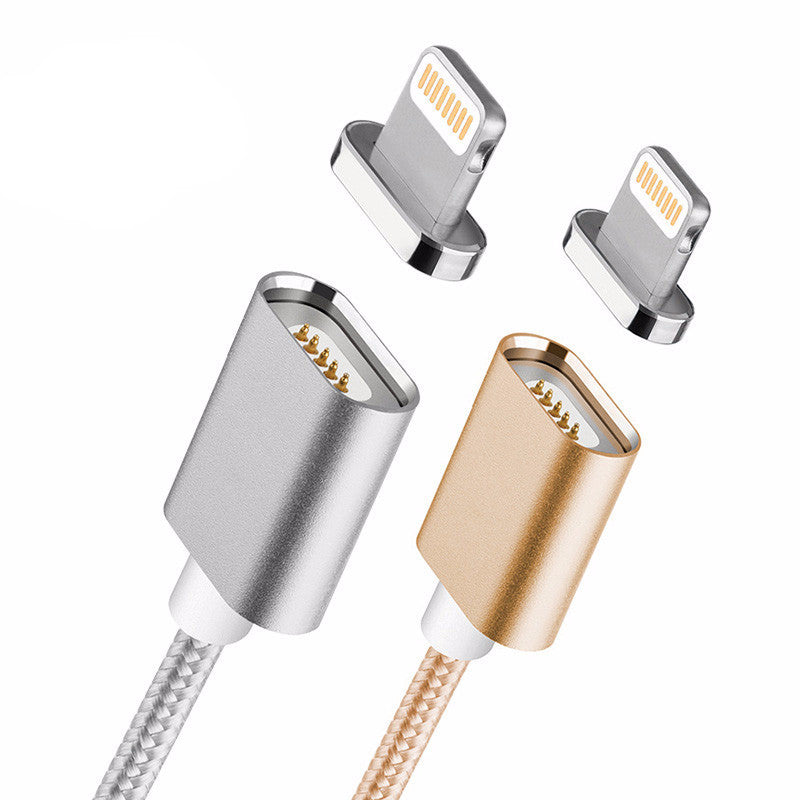 Premium 2.4A Magnetic USB Charging Cable For iPhone 5, 5s, 6s, 6, 7