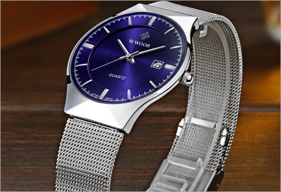 Ultra Thin Casual Business Quartz