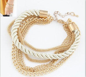 Women's Rope Chain Decoration Bracelet