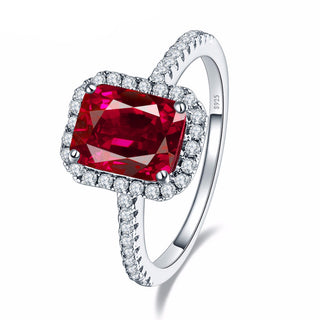 3.5ct Pigeon Blood Red Ruby Ring