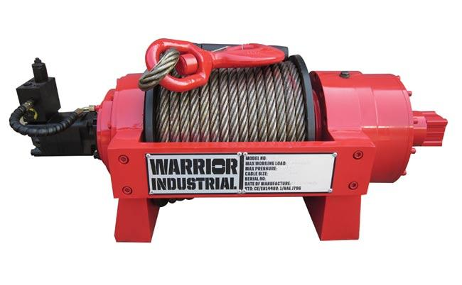 JP 10 Industrial Hydraulic Winch from RiggingUK