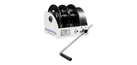 GEBUWIN | WW Type 250kg - 1500kg GR/2D Double Drum Worm gear hand winch (WG Type)