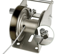 GO-AFD, Goliath Zinc Plated winch