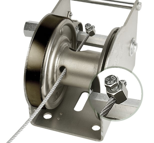 GO-AFID - Goliath Stainless Steel (316L) Wire Rope Winch