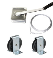 AG45 - 45kg Hand Winch- Kits for -  Clothes/Washing lines, Fitness Equipment, Chandeliers - plus many others
