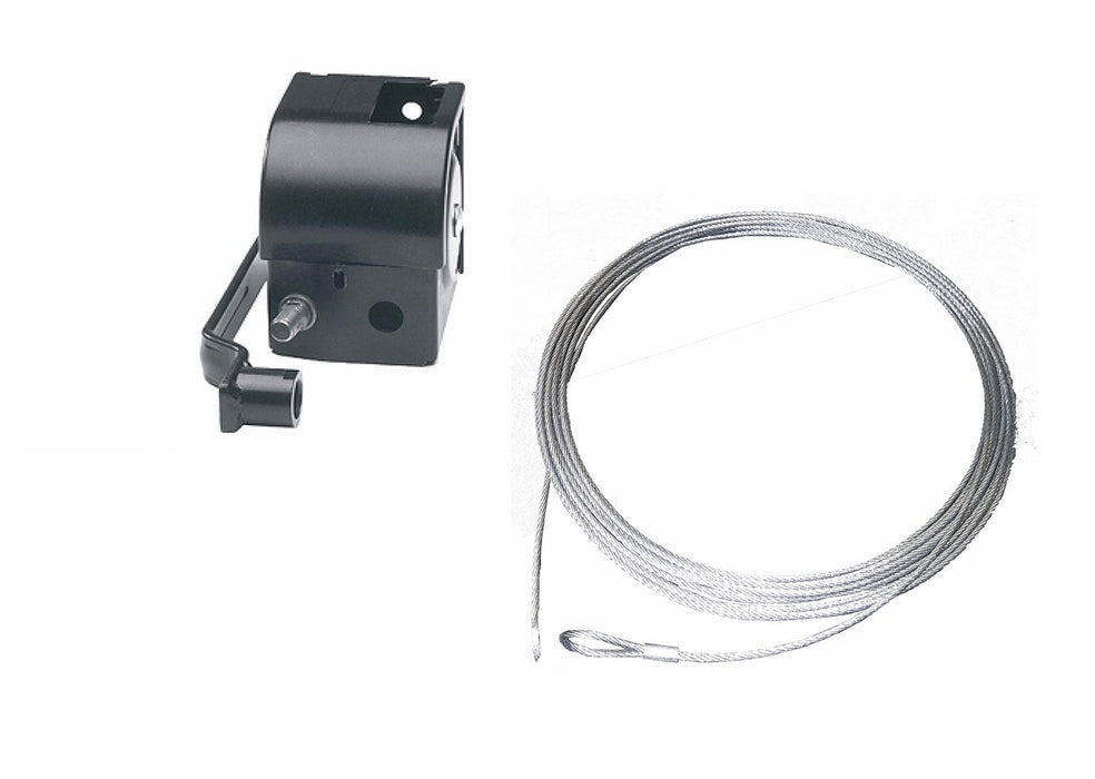 GO-CS100MD Hand Winch with a capacity 100kg & removable handle PF63202