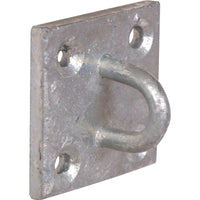 Galvanised Steel Staple Eye Plate