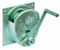 HA-SG/Z - Haacon Spur Gear Zinc Plated Wall Mounted Hand Winch