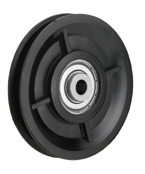 WEBI Pulley, Type ETT-104P- Polymide (Black) Pulley with ball bearings