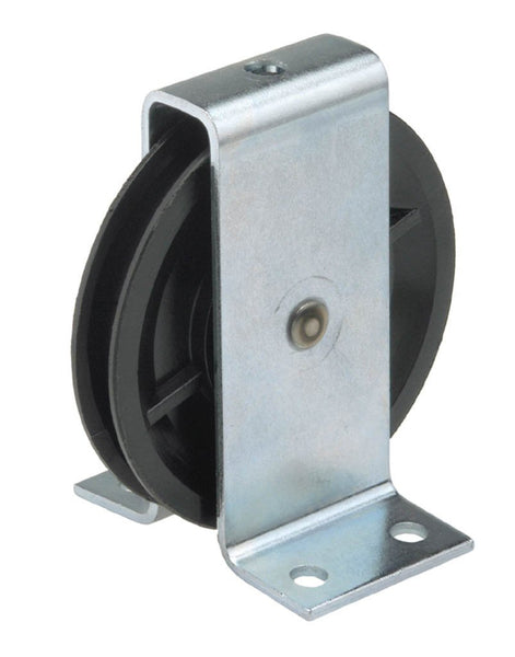 WEBI Pulley Type ETT-116P - Polymide Pulley with Bearing & Galv Bracket