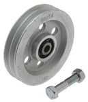 WEBI Pulley Type ETT-74D - Galvanised Cast Iron Double Groove Pulley