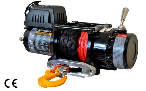 Ninja 4500 Electric Winch C/W Synthetic